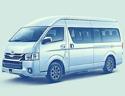 Sewa Hiace Madiun mobil minibus 14 Penumpang Yg Nyaman